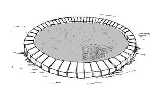 Figure 15: Casting a flat roof from concrete